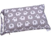 Worek BOBO do przedszkola pokrowiec na pościel śpiworek szary w słonie