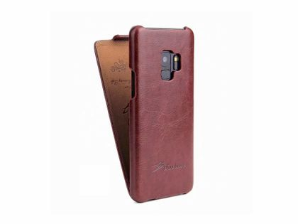 Etui z Klapką Skóra do SAMSUNG Galaxy S9