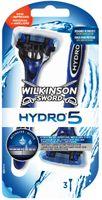3x MASZYNKA DO GOLENIA WILKINSON SWORD Hydro 5