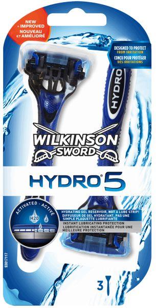 3x MASZYNKA DO GOLENIA WILKINSON SWORD Hydro 5 na Arena.pl