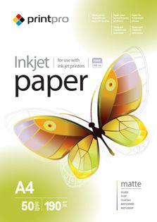 Papier Fotograficzny PrintPro Matowy A4 190g 50 szt