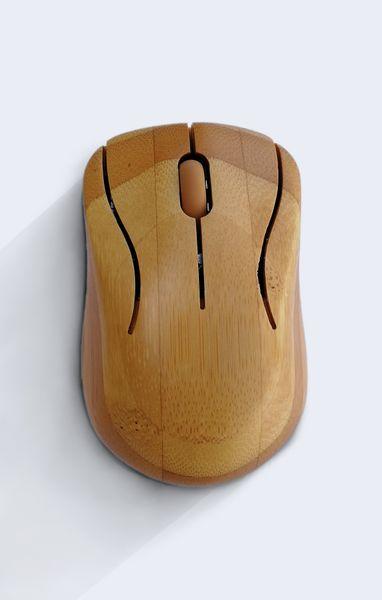 PROMOCJA duża bambusowa KLAWIATURA i mysz ZESTAW zdjęcie 4