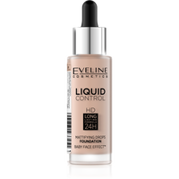 EVELINE Liquid Control HD 32ml - podkład do twarzy ROSE BEIGE 020