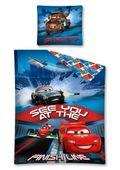 Pościel dla dzieci licencyjna AUTA - CARS - 160x200