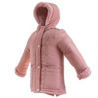 PEPCO Kurtka zimowa dziewczęca futro 110 różowa