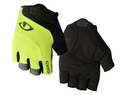 Rękawiczki męskie GIRO BRAVO GEL krótki palec highlight yellow roz. XXL (obwód dłoni od 267 mm / dł. dłoni od 211 mm) (NEW)