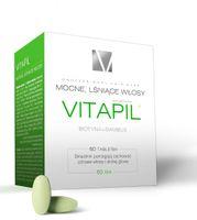 Vitapil z biotyną, 60 tabletek - Długi termin ważności!