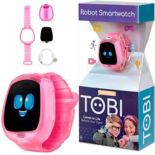 Little Tikes Zegarek Robot Tobi Smartwatch Gry Video Aparat Fitness Różowy