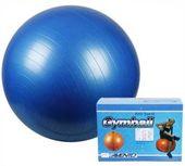 Niebieska piłka gimnastyczna 65 cm