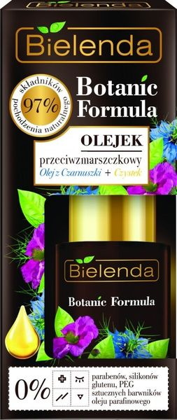Bielenda Botanic Formula Olej z Czarnuszki + Czystek Olejek przeciwzmarszczkowy na dzień i na noc 15ml na Arena.pl
