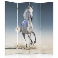 Parawan dekoracyjny, Koń na piasku 145x180