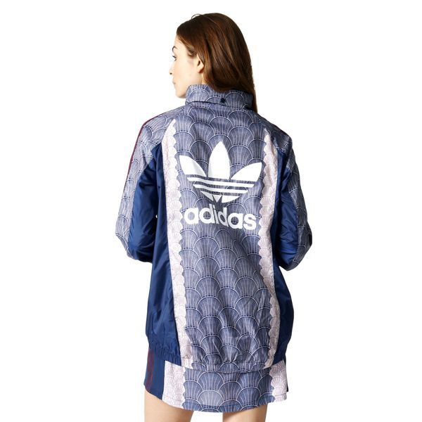 b5fca2fbd1109 Kurtka Adidas Originals Shell Windbreaker damska sportowa wiatrówka z  kapturem 36 zdjęcie 2