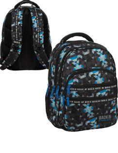 Backup Plecak Młodzieżowy M53 Pixele