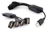 Hub USB 4 Porty Rozdzielacz Rozgałęźnik z Kablem