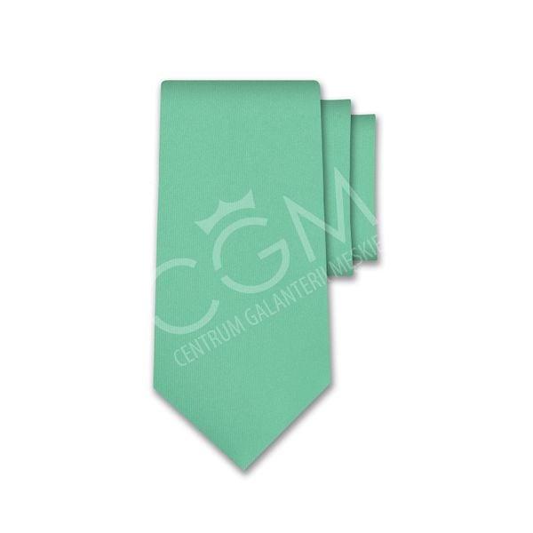 Krawat jednolity zielony - miętowy na Arena.pl