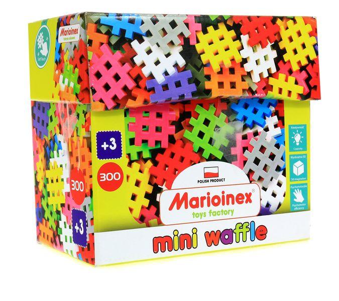 POLSKIE Klocki Mini Waffle Wafle Marioinex 300 el. zdjęcie 1