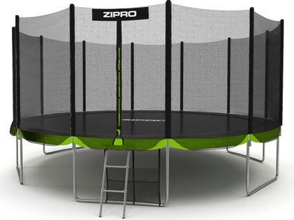 Zipro Trampolina ogrodowa z siatką zewnętrzną 16FT 496cm