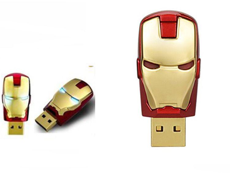 Pendrive Głowa Iron Man Marvel Avengers 16Gb zdjęcie 1
