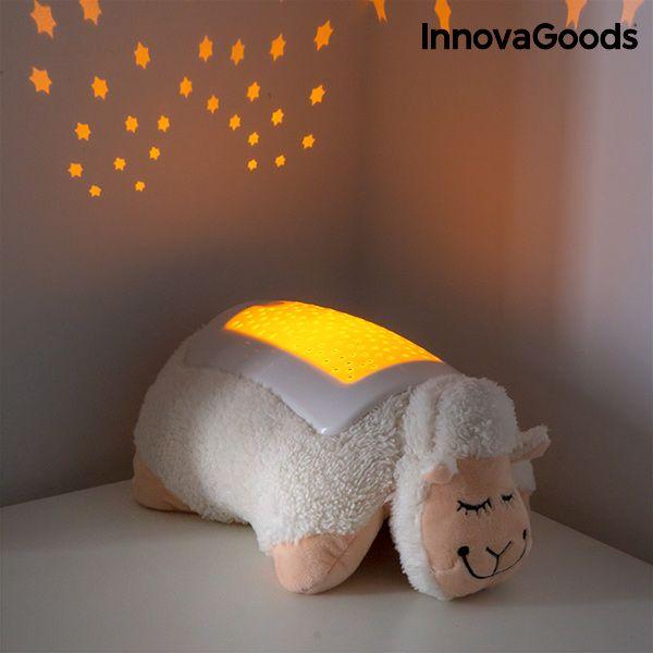 Przytulanka Owieczka z Projektorem LED InnovaGoods zdjęcie 5