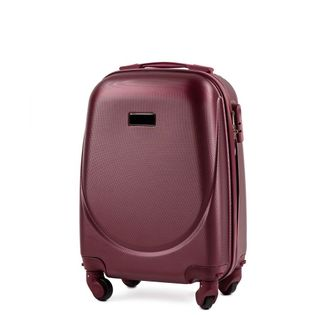 Mała kabinowa walizka KEMER WINGS 310 XS Bordowa