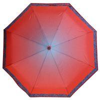 Mocna automatyczna parasolka damska Stork, cieniowana z ozdobną lamówką
