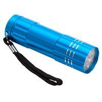 Latarka LED Jewel, jasnoniebieski