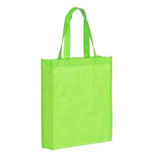 Torba na zakupy Non Woven długie uszy, zielony