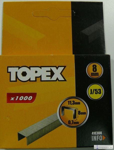 Zszywki Typ J 8mm 1000szt zdjęcie 1