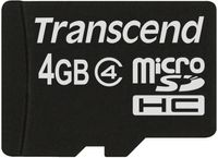 Karta Pamięci Transcend Microsdhc 4 Gb Adapter Sd
