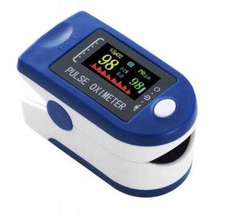 Pulsoksymetr Pulse Oximeter niebieski P1