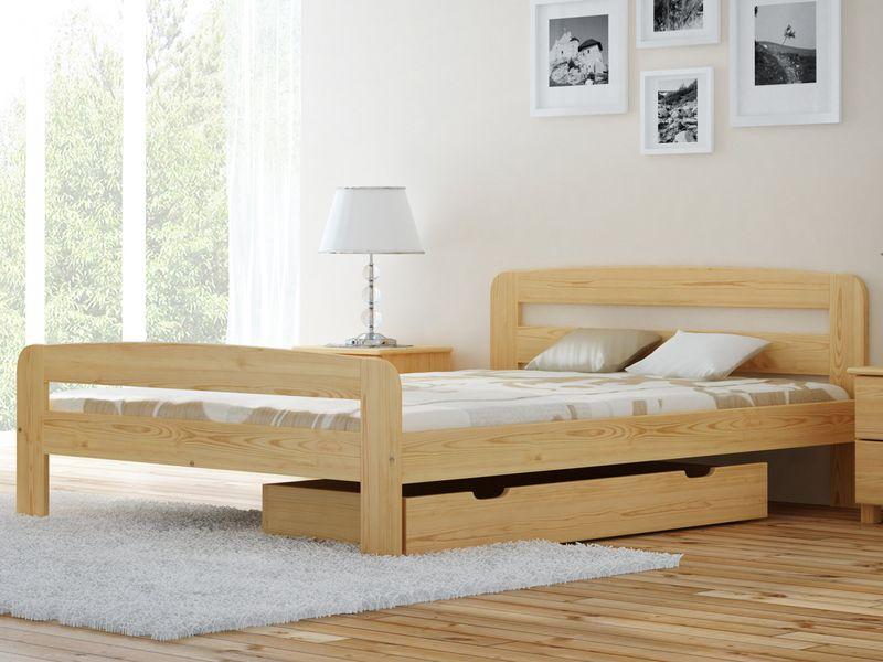 łóżko Drewniane 160 Klaudia Sosna Magnat