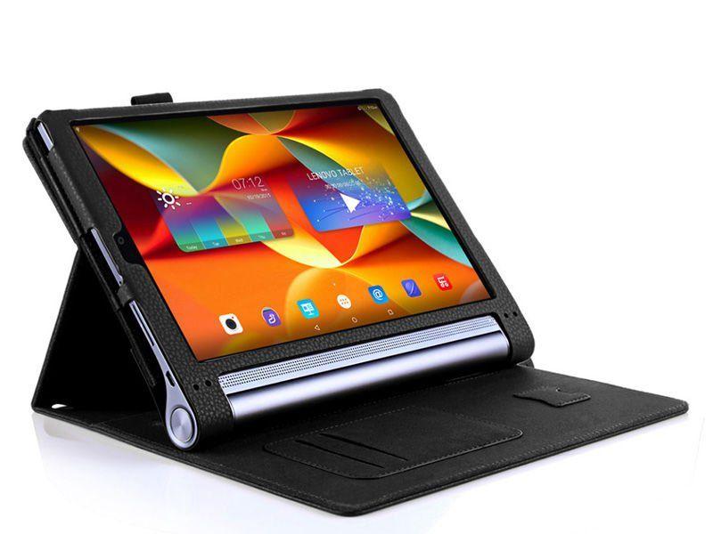 """Etui skórzane Lenovo Yoga Tab 3 Pro 10"""" X90 Niebieski + Klawiatura zdjęcie 3"""