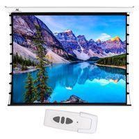 MC-992 58986 Ekran elektryczny z  naciągiem Maclean Premium 100 cali 4:3 ściana lub sufit