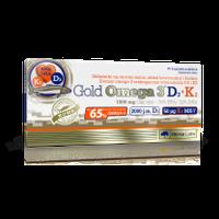 Olimp GOLD OMEGA 3 D3+K2 kwasy tłuszczowe witaminy + GRATIS!