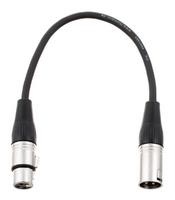 Kabel przewód mikrofonowy XLR XLR 0,3 m patch