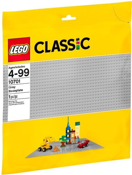 LEGO CLASSIC 10701 Szara Płytka Konstrukcyjna zdjęcie 1