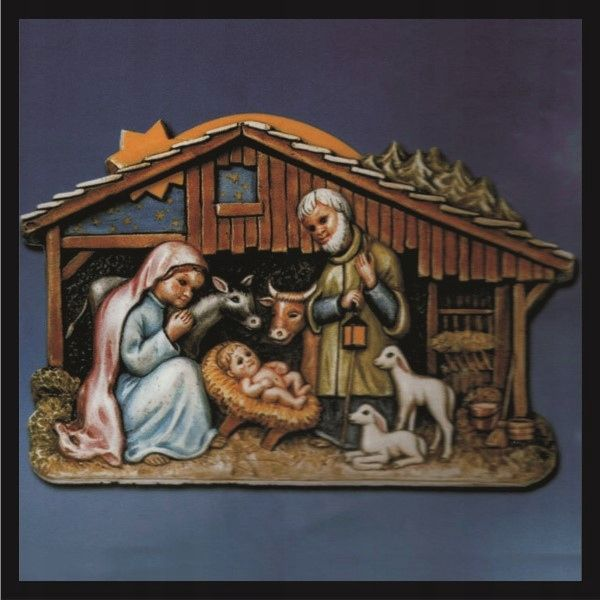 Forma do odlewów - Odlewy gipsowe - Szopka bożonarodzeniowa (2002017) na Arena.pl