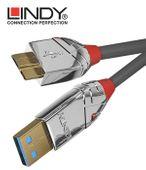 Lindy 36656 Kabel USB 3.0 A - micro USB B Cromo Line – 0.5m Kolor - 0,5m zdjęcie 5
