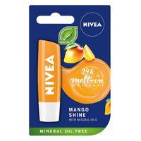 Nivea 24H Mett-In Moisture Pielęgnująca Pomadka Do Ust Mango Shine 4.8G