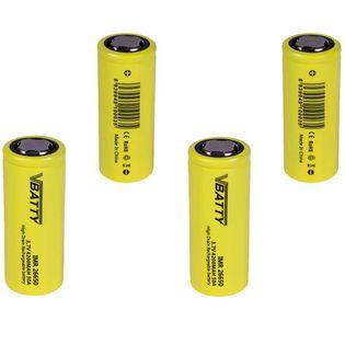 4x Akumulatorek ogniwo bateria IMR 26650 3 7 v 4200 mAh 50A CE