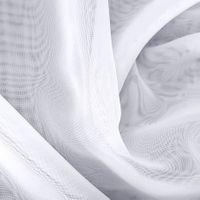 """Firanka szyta z woalu """"Klaudia"""" - 155x600 cm - biała"""
