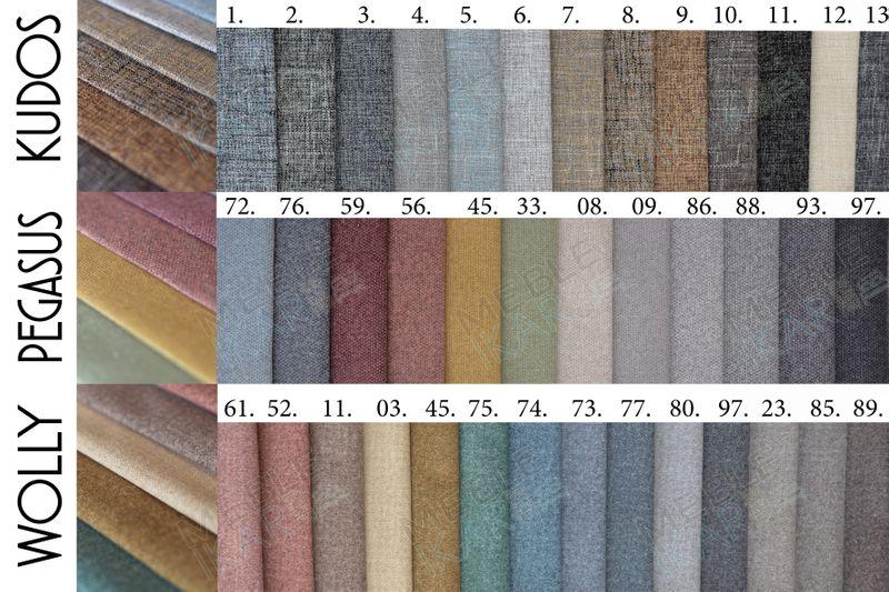 Łóżko tapicerowane BONO 160x200 Stelaż zdjęcie 11