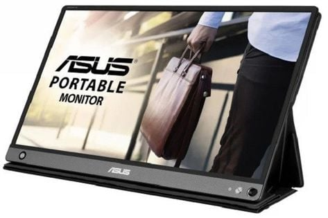 "Monitor Asus 15.6"" 1920 X 1080 Mb16Ahp Czarny"