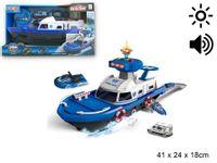 Nowa Lodz policyjna efekty swiatło dzwiek Super zabawka dla najmłodszych dzieci !