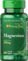 Magnez 250mg Magnesium 100 kapsułek Puritan's Pride
