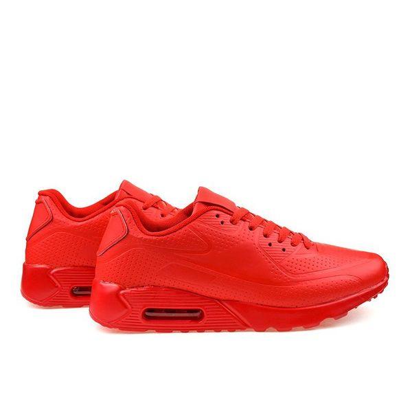 Czerwone męskie obuwie sportowe r.45 zdjęcie 4