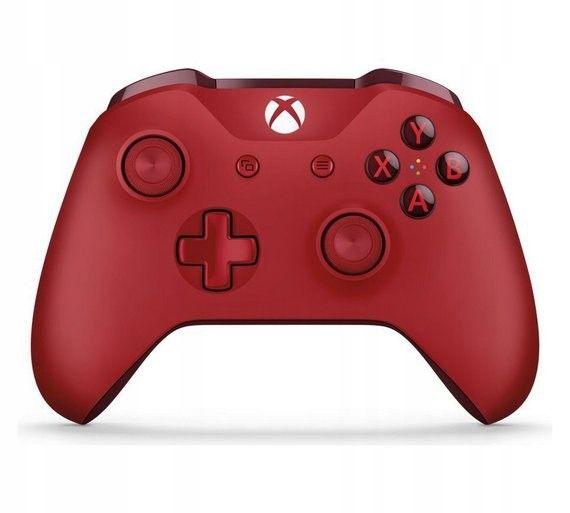 NOWY Oryginalny kontroler Pad Xbox One S Red czerwony zdjęcie 5