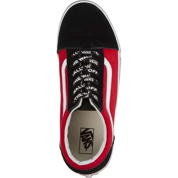Vans OLD SKOOL VI7 LOGO POP BLACK TRUE WHITE Rozmiar 37