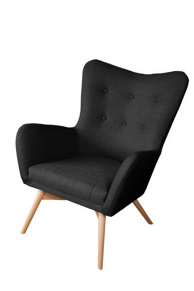 Skandynawski Fotel na wysokich nóżkach zdjęcie 4