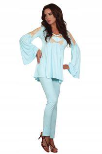 Komplet nocny luksusowy piżama Chloe XL